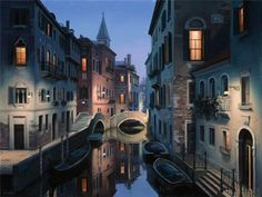 Awesome paintings by Eugene Lushpin