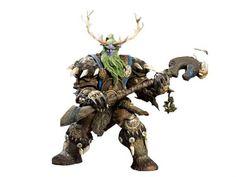 World of Warcraft: Series 2 - Night Elf Druid Broll Bearmantle - World of Warcraft Series 02