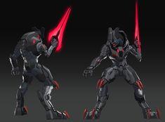 Armor Concept, Concept Art, Halo Armor, New Halo, Halo Series, Halo Game, Sci Fi Armor, Red Vs Blue, Alien Creatures