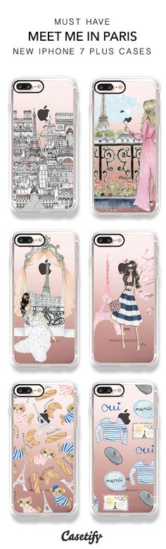 Shop these best selling Paris and Parisian iPhone 7/ iPhone 7 Plus phone cases here > https://www.casetify.com/artworks/DgjNifZbAL