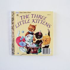 My First Little Golden Book The Three by MyForgottenTreasures