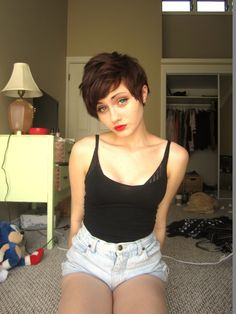 pixie cut - total pixie cut spam sorry not sorry