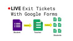Technology is supposed to facilitate our work. For classrooms, this means managing information efficiently. The more I try new tools, the closer I come to the old ones. This post is about how to set up Google Forms and Sheets to create a live setting for sharing student responses and feedback. Exit Tickets, Instructional Strategies, Student Teacher, Google Classroom, I Tried, No Response, Blog Live, Technology, Education