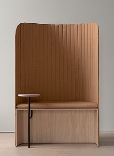 Focus Podseat is minimalist seating designed by Stockholm-based company Note Design Studio Office Furniture, Cool Furniture, Modern Furniture, Furniture Design, Modern Interior, Interior Architecture, Interior Design, Drawing Furniture, Note Design Studio