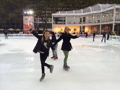 Ice skating in October...I love NY