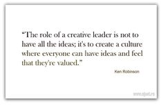 the role of a creative leader