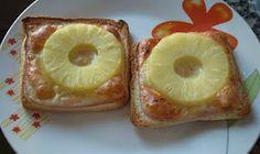 Éxitos culinarios: Tostas de jamón, queso y piña