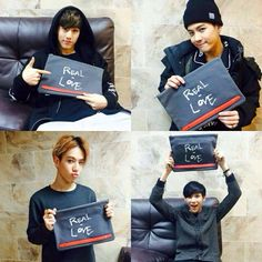 Mark, Jackson, Yugyeom, and Bam Bam- Rosa K.'s Facebook