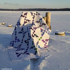 Banana Split Quilt from the Cake Mix Quilt Along • Freemotion by the River