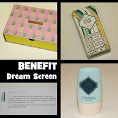 MichelaIsMyName: BENEFIT  Dream Screen REVIEW