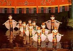 The traditional puppet show attract many tourists