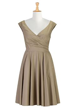 Melissa? - Beige Dress , Plus Womens Clothes