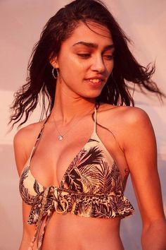 Sexy women in sports bra big boobs