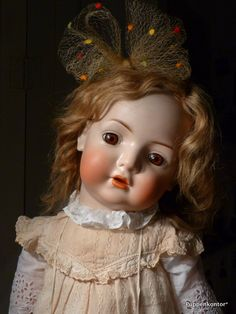 German Character Bisque doll, Bruno Schmidt