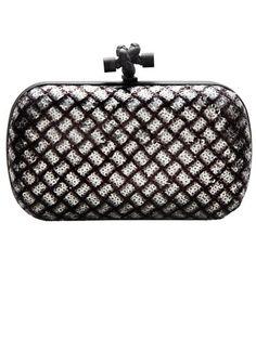Bottega Veneta Clutch - Best Embellished Shoes, Bags and Jewelry Fall 2012 - Harper's BAZAAR