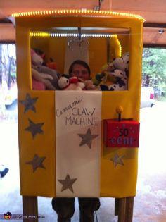 Cameron's Claw Machine - 2012 Halloween Costume Contest