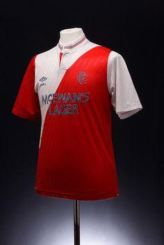 Glasgow Rangers Football Shirt (Away, 1988-1990)