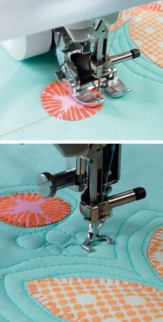 Do you know how to machine quilt on your home machine? Discover two ways to create beautiful quilting motifs on your quilts—and say goodbye to quilting by check!—in the new book Pat Sloan's Teach Me to Machine Quilt.