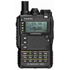 Quad-Band Yaesu VX-8DR Submersible VHF/UHF Amateur Radio Transceiver >>>Click images to low prices