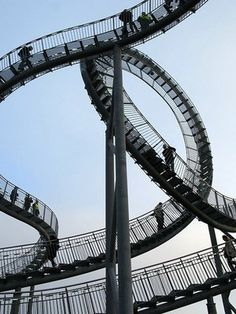 Tiger & Turtle Magic Mountain - walking rollercoaster in Germany