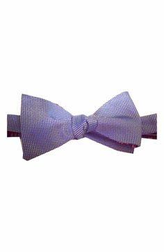 Main Image - Lazyjack Mullet Reversible Silk Bow Tie