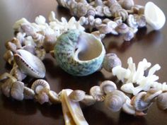 Shell Necklace with Mother of Pearl by HMbySemraAscioglu on Etsy, $58.00