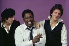 "Steve Van Zant, Clarence ""the Big Man"" Clemons, Bruce Springsteen"
