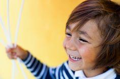 Yellow Happiness! Kids portrait