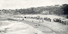 """Playa de Ereaga, hacia 1935 (Del folleto """"Guecho. Verano de 1935"""") (ref. 07033)"""