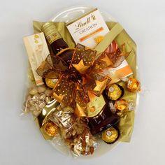 Amarula Platter | Snippets Hampers Chocolate Caramels, Chocolate Truffles, Nougat Bar, Lindt Lindor, Mixed Nuts, Hampers, Creme Brulee, Pistachio, Platter