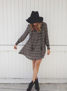 Marlow Pintuck Dress styled by sloppyelegance on FP Me #freepeople #fpme