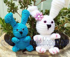 Faça você mesmo AMIGURUMI #2 Coelho da Páscoa em crochê