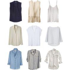 Capsule Wardrobe--Tops