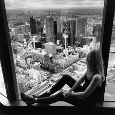 Views over Melbourne  @visitmelbourne by tuulavintage