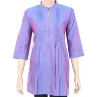Pleated cotton kurta. Free shipping in India. COD available. Worldwide delivery
