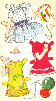 Juliet Cut Out Doll Dressing Storybook (4 of 6), 1950s, Sandles