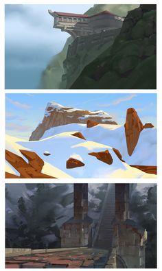 colour thumbnails, Markus Lenz on ArtStation at https://www.artstation.com/artwork/g8mxG