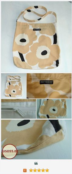 Your place to buy and sell all things handmade Marimekko Bag, Etsy Vintage, Vintage Items, Herschel Heritage Backpack, Metal Buttons, Cotton Bag, Scandinavian Design, Finland, Sewing Projects