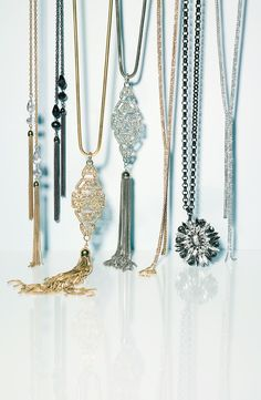 Want to wear all of these necklaces this party season!
