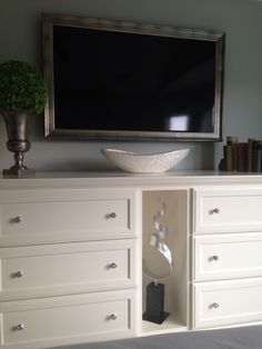 Designed my dresser in master