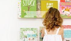 Deze boekenplank verleidt kinderen tot lezen - Roomed