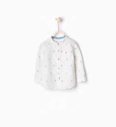 ZARA - KIDS - Tree print shirt