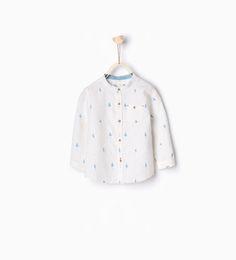 ZARA - KIDS - Tree print shirt