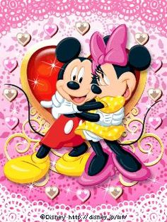 Mickey and Minnie together