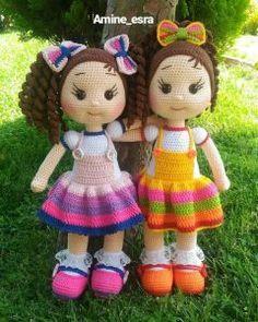 Disney Princess - Free Crochet Pattern - Salvabrani - My WordPress Website Make belle for b and rapunzel for maxie - crochet Amigurumi Do Zero Omggg so cute cute kawaii mini gift or decorv ring amigurumi 2 p.Crochet Pattern for Doll ZOEY pdf Deutsch Crochet Dolls Free Patterns, Crochet Doll Pattern, Amigurumi Patterns, Doll Patterns, Crochet Doll Clothes, Knitted Dolls, Crochet Crafts, Crochet Projects, Knitting Projects