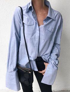 Il semblerait que la longueur de poignet des chemises ait quelque peu évolué... (photo Mija Flatau)