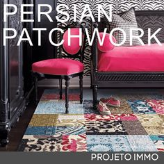 Persian Patchwork Tapete Persa