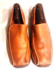 Donald J. Pliner Men's 'Square-Toed Loafer. Size 11.5M #DonaldJPliner #LoafersSlipOns