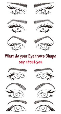 Do you have problems with your eyebrows? Maybe you want to reshape them, but the previous shape can be hardly changed? Keep it calm, all these features represent you, your personality. Read the article and find out more information about what your eyebrows are telling!