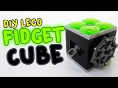How to Make Fidget Cube with Lego Compatible (DIY) - YouTube